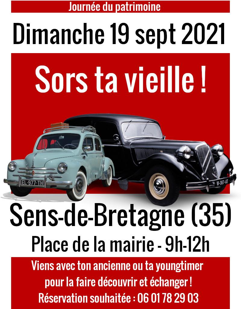 Rassemblement auto Sens-de-Bretagne